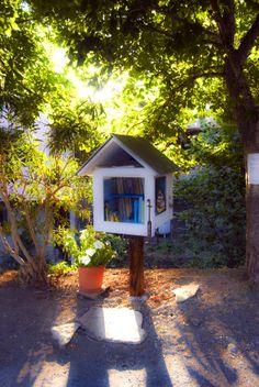 LITTLE FREE LIBRARY Anche in Liguria è nata la prima Little Free Library! Si trova nel Golfo di Diana e più precisamente nella frazione di Diano Roncagli, nel comune di Diano San Pietro in provincia di Imperia.
