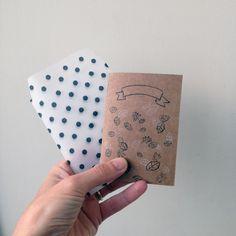Quadernetto realizzato e disegnato a mano : Materiale per la scrittura di gab77