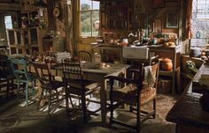 The Burrow, home of the Weasley Family (Harry Potter)