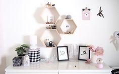 Tytön huoneen uudet pikkujutut seinillä