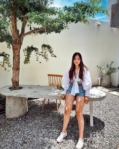Nhn mt l bit kh tnh ri ha ootd hoian lifestyle hangout nccdanang Alarm Set, Dog Tags, Outfit Of The Day, Ootd, Instagram, Outfits, Today's Outfit, Clothes, Style