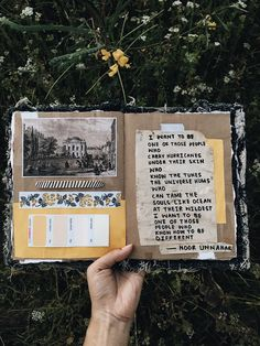 """Noor Unnahar on Twitter: """"— one of those people ✨ // art journal + poetry #amwriting https://t.co/oyS2wxQWuj"""""""