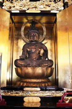 賢林寺の本尊十一面観音像(秘仏)