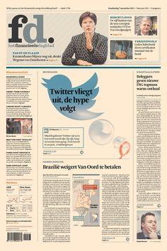 Het Financieele Dagblad, published in Amsterdam, Netherlands