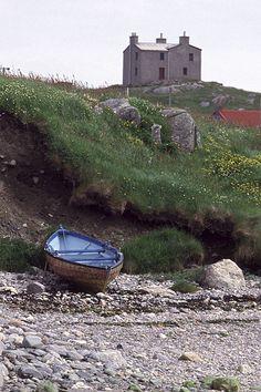 House on Yell, Shetland.