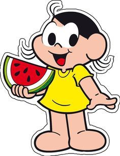 Recorte Magali Watermelon Art, Watermelon Clipart, Planners, Call Of Duty Black, Holidays And Events, Cute Cartoon, Mickey Mouse, Alice, Scrap