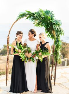 Elegant Tropical Wedding Inspiration in Malibu - Inspired By This