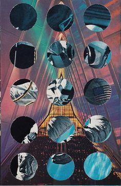 """Midheaven"" | Randy Grskovic | Analogue #Collage #art"