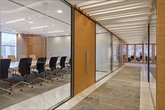 "Ceiling idea: span opposite direction of long corridor - ""Geyer-workplacedesign_prudential-02"""