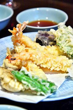 Prawn and Vegetable Tempura 天ぷら盛合せ