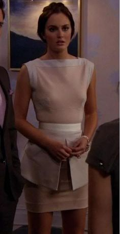 Modern and Chic   Victoria Beckham (Spring '10) dress   Community Post: Blair Waldorf's Most Iconic Looks