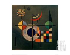 Counterweights, 1926 Giclee Print by Wassily Kandinsky at Art.com