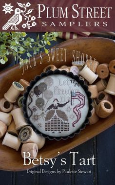 """PLUM STREET SAMPLERS """"Betsy's Tart"""" 