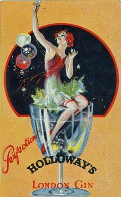 Holloway's London Gin  via sydneyflapper