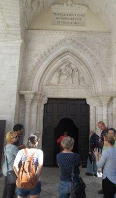 Tour guide - St Michael Archangel Sanctuary - upper atrium #UNESCO World heritage site