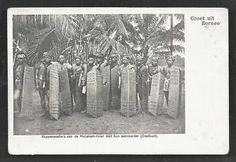 Dayak-Headhunters-Arms-Shields-Borneo-Indonesia-ca-1899