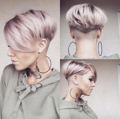 Asymmetric pixie by Danielle wilson