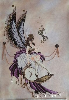 PDF Pattern for Pocketwatch Pixie by Kate by EyeoftheMagpieByKate