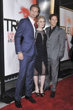 Anna Paquin and Stephen Moyer vamp it up at True Blood premiere