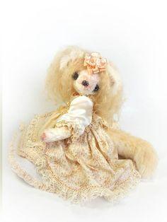 Авторская коллекционная игрушка - Единственный экземпляр - Ручная работа - (29 см) Принцесса Мими - Кукольный театр