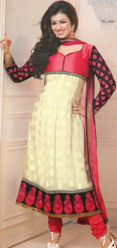 #AyeshaTakia Off #White Brasso #Churidar #Suit | @ $60.35