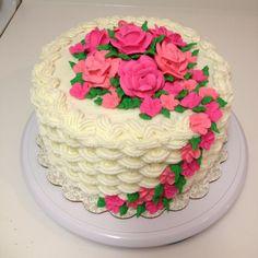New cupcakes lemon peanut butter ideas Pretty Cakes, Beautiful Cakes, Amazing Cakes, Buttercream Cake Designs, Fancy Cupcakes, Decadent Cakes, Colorful Cakes, Specialty Cakes, Cake Decorating Techniques