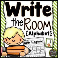 Write around the room activities for senior