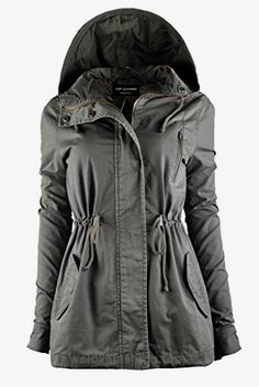 TL Women's Militray Anorak Parka Hoodie jackets with Drawstring OLIVE SMALL  BUY NOW     $26.50     It's time of the year to grab FALL MUSTHAVE Parka Jackets !!     Add some new layering pieces to your closet and snag our hooded Parka Jackets!   These versatile ja ..