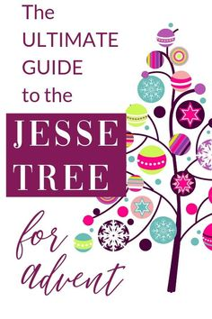 The Jesse Tree for Advent is one of the best Christmas traditions for families. Learn what it is, how to make it part of your family, and more! Family Traditions, Christmas Traditions, Family Kids, Happy Family, Raising Girls, Raising Daughters, Christmas Tree Lots, Christmas Ideas, Jesse Tree Ornaments