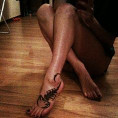 30 Best Scorpion Tattoos For Boys And Girls. Great because thats exactly where I want mine.