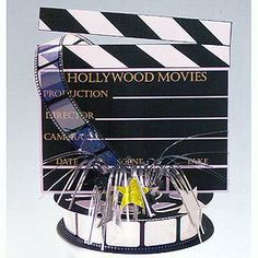 Hollywood Movie Set Centerpiece by Amscan. $8.70. Hollywood Movie Set Centerpiece