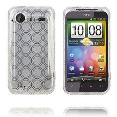 Amazona (Hvit) HTC Incredible S Deksel