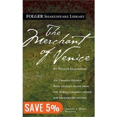The Merchant of Venice (Folger Shakespeare Library) The Merchant Of Venice, Never Married, Play S, Texts, Books, William Shakespeare, English, Libros, Book