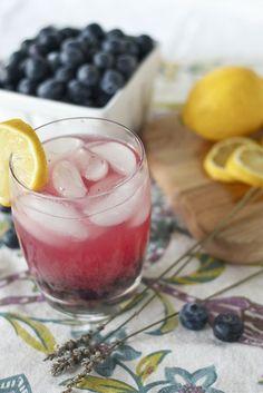 Lavender Blueberry Lemonade