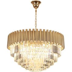 New crystal chandelier gold luxury living room crystal lamp round LED light Round Crystal Chandelier, Gold Chandelier, Modern Chandelier, Red Lamp Shade, Round Ceiling Light, Chandelier Lighting Fixtures, Cheap Pendant Lights, Chandelier In Living Room, Pendant Lamp