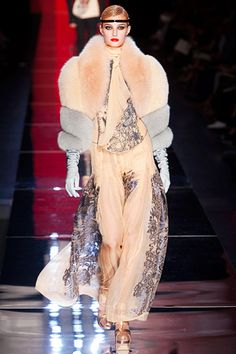 A flapper...Jean Paul Gaultier Fall 2012 Couture