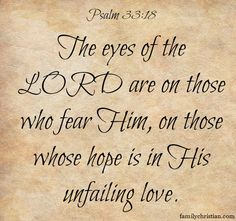 Real HOPE is found in the Lord.