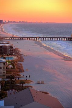 Sunrise, Myrtle Beach, South Carolina 6 more weeks...thinking about this is all that's keeping me sane right now.