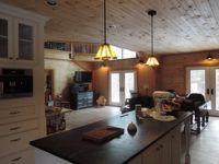 #modernfarmhouse #barnhouse  #geobarns #custombuild #designerbuild #farmhousekitchen