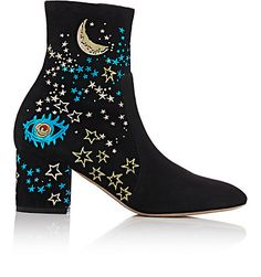 Valentino Astro Couture Ankle Boots - Ankle Boots - Barneys.com