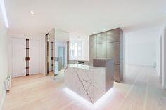 spamroom revamps apartment rue de lille in paris - designboom | architecture