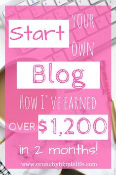 start a blog for pro