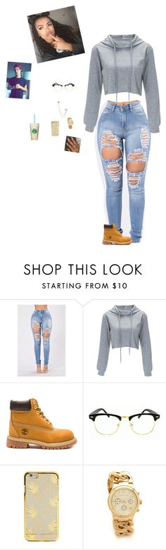 """ what are you waiting for-- nickelback"" by trilliestbitch on Polyvore featuring Timberland, Michael Kors and claire's"
