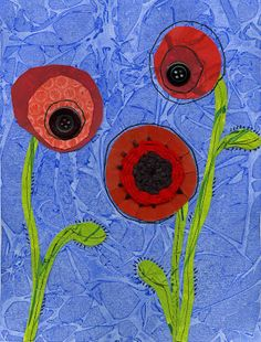 that artist woman: Poppy Mixed Media Worth reading the instructions on the site as it tells you how to create the textured background.so easy and effective. Remembrance Day Activities, Remembrance Day Art, Ww1 Art, Poppy Craft, Anzac Day, School Art Projects, Kindergarten Art, Autumn Art, Teaching Art