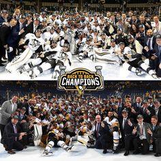 Pittsburgh Penguins back to back Stanley Cup Champions 2016 & 2017 Pens Hockey, Hockey Teams, Ice Hockey, Hockey Players, Sports Teams, Hockey Room, Hockey Stuff, Hockey Puck, Pittsburgh Sports