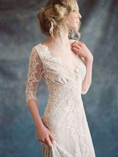 Romantique by Claire Pettibone | Love My Dress® UK Wedding Blog                                                                                                                                                      More