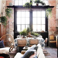 10 Interiores Que Sacan El Mejor Provecho Al Ladrillo Expuesto De Sus Paredes | Cut & Paste – Blog de Moda
