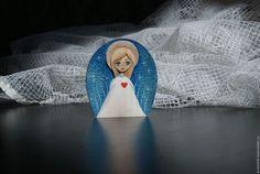 Сказочные персонажи ручной работы. Ярмарка Мастеров - ручная работа. Купить Ангел. Handmade. Комбинированный, ангел-хранитель