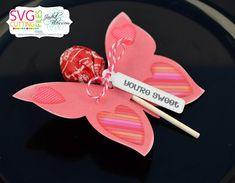 Valentine Treats, Be My Valentine, Valentine Cards, Monkey Crafts, Butterfly Decorations, Diy Gift Box, Butterfly Shape, Pillow Box, Sticky Notes