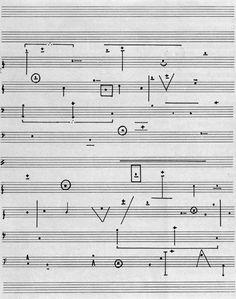 Horacio Vaggione, L'Art de la Musique N°2, pour quatre oscillateurs